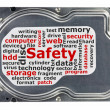 Close-up of hard disk — Stock Photo #20086347