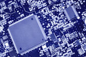 Fragment of electronic board — Stock Photo