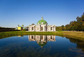 Grotto pavilion in Kuskovo park — Stock Photo