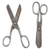Rusty tailor scissors — Stock Photo