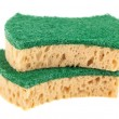 Two washing sponges — Stockfoto