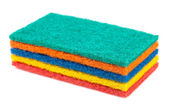 Stack of kitchen sponges — Stock Photo