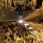 Plasma cutting metalwork industry machine — Stock Photo #26270983