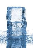 水と氷のペアを削除します。 — ストック写真