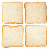 Collection of bread slices — Stock Photo