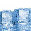 Stock Photo: Two melted ice cubes
