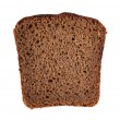 Stock Photo: Rye bread slice