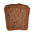Rye bread slice — Stock Photo