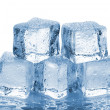 Five melted ice cubes — Stock Photo