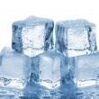 Stock Photo: Five melted ice cubes