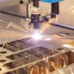 Plasma cutting metalwork industry machine — Stock Photo #29221915