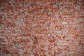 Grunge rode bakstenen muur — Stockfoto
