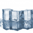 Three melted ice cubes — Stock Photo #50312549