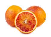 Ripe blood red orange — Stock Photo