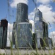 Stock Video: Skyscrapers of Moscow City