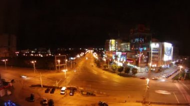 City of Kaliningrad machine Time Lapse — Stock Video