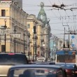 Streets of St. Petersburg — Video Stock