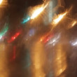 Car window rain night background defocused — Stock Video #14169914