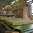 Stock Video: Production of heat insulation