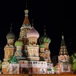 Night St. Basil Cathedral — Stock Photo #20098351