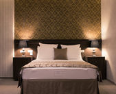 Elegance bedroom — Stock Photo