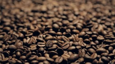 Coffee in motion close-up — Stock Video