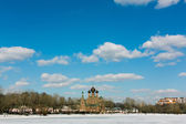 Ostankino church — Stock Photo