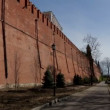 Moscow kremlin wall panorama — Stock Video #26817525