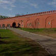Moscow kremlin wall panorama — Stock Video #26817817