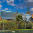 Cathedral in Kaliningrad — Stock Photo