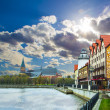Stock Photo: Fishing Village in Kaliningrad