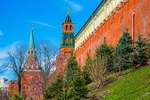 Moscow Kremlin spring — Stock Photo