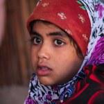 Bedouin child — Stock Photo