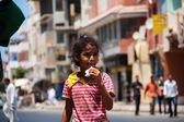Egyptian child — Stock Photo