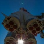 Soviet rocket — Stock Photo