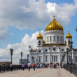 Cathedral of Christ the Saviour. Russia,Moscow — Стоковая фотография