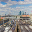 Moscow highway third ring — Stock Photo #36735769