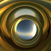 Abstract Portal to Future — Stock Photo