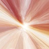 Red Horizon Point Grid Sun — Stock Photo