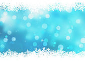 Christmas blue background with snow flakes. EPS 8 — 图库矢量图片