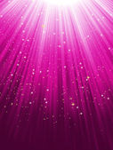 Stars on purple striped background. EPS 8 — Vector de stock