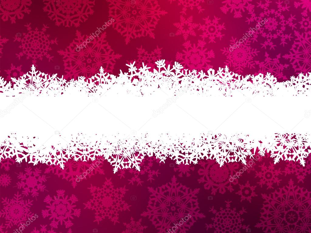 Christmas purple background with snow flakes. And also includes EPS 8 vector  Stock Vector #12652559