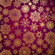 Christmas pattern snowflake background. EPS 8 - 图库矢量图片