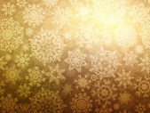 новогодний фон со снежинками. eps 8 — Cтоковый вектор
