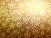Kerstmis achtergrond met sneeuwvlokken. eps 8 — Stockvector