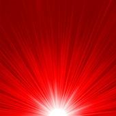 Star rafale feu rouge et jaune. eps 8 — Vecteur