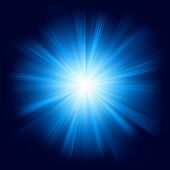 Blaue farbe entwurf mit einem platzen. eps 8 — Stockvektor