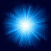 Diseño de color azul con una explosión. eps 8 — Vector de stock