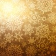 Christmas background with snowflakes. EPS 8 -  