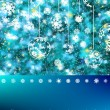 Elegant christmas with snowflakes. EPS 8 - Stockvektor
